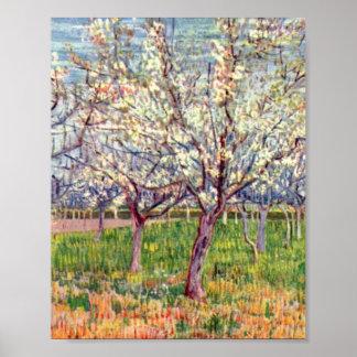 ヴィンチェンツォウィレムゴッホ著花盛りの果樹園 ポスター