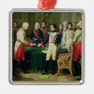 ヴィンチェンツォナポレオンIの受け入れの男爵 メタルオーナメント