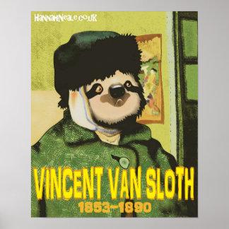 ヴィンチェンツォヴァンSloth Print ポスター