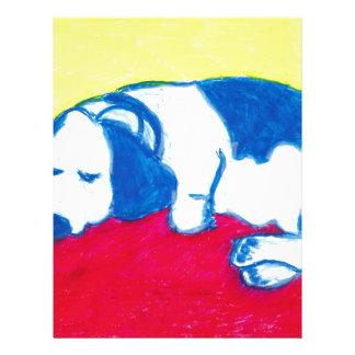 ヴィンチェンツォ原色の犬 レターヘッド
