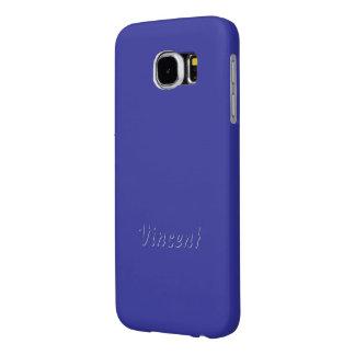 ヴィンチェンツォ紫色のSamsungの銀河系の箱 Samsung Galaxy S6 ケース