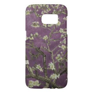 ヴィンチェンツォvanゴッホ紫色Almondの花 Samsung Galaxy S7 ケース