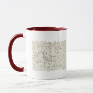 ヴィンテージくまの星の星座 マグカップ
