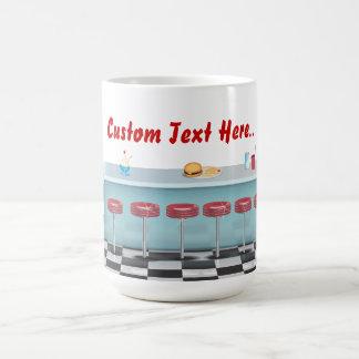 ヴィンテージすべてのアメリカのダイナー コーヒーマグカップ