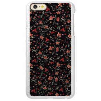 ヴィンテージによっては5/5s地図書ID™が、ピンクかダークグレー開花します Incipio Feather Shine iPhone 6 Plusケース