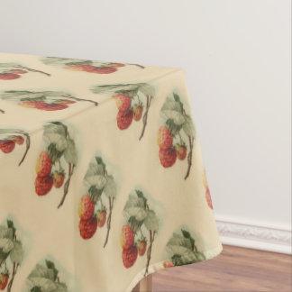 ヴィンテージのいちごパターン テーブルクロス