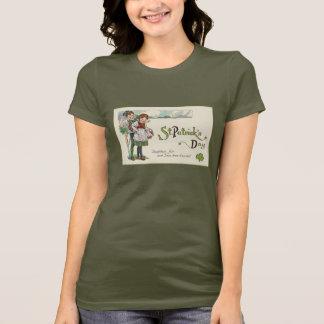 ヴィンテージのかわいい子供のSt patricks dayのTシャツ Tシャツ