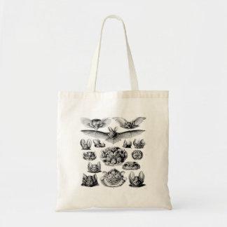 ヴィンテージのこうもりのイラストレーションのバッグ トートバッグ