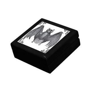 ヴィンテージのこうもりのゴシック様式ビクトリアンな宝石箱 ギフトボックス