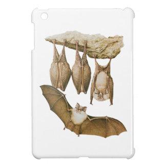 ヴィンテージのこうもりの絵、動物のスケッチ iPad MINIケース