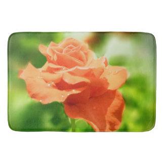 ヴィンテージのばら色の花#3 バスマット