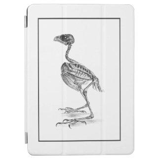 ヴィンテージのひな鳥の骨組エッチング iPad AIR カバー