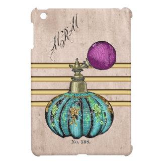 ヴィンテージのぼろぼろのシックな香水瓶のiPad Miniケース iPad Miniケース