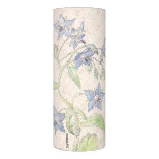 ヴィンテージのるりぢさのStarflowerの花のFlameless蝋燭 LEDキャンドル