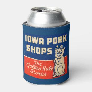 ヴィンテージのアイオワのポーク店広告クーラーボックス 缶クーラー