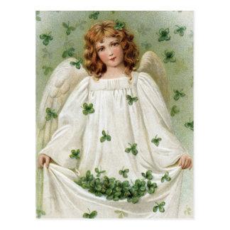 ヴィンテージのアイルランド人の天使 ポストカード