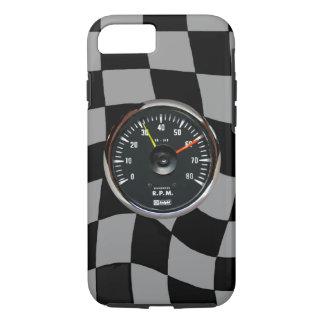 ヴィンテージのアナログの自動回転速度計のiPhone 7カバー iPhone 8/7ケース