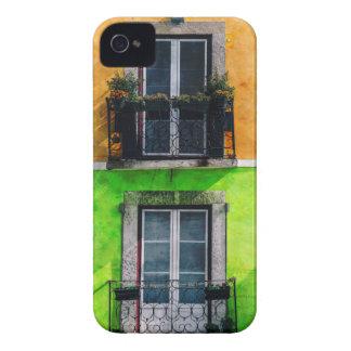 ヴィンテージのアパートのバルコニー Case-Mate iPhone 4 ケース