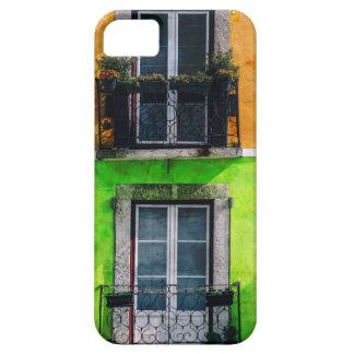 ヴィンテージのアパートのバルコニー iPhone SE/5/5s ケース