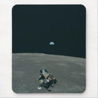 ヴィンテージのアポロ11月の代表団のワシの上昇 マウスパッド