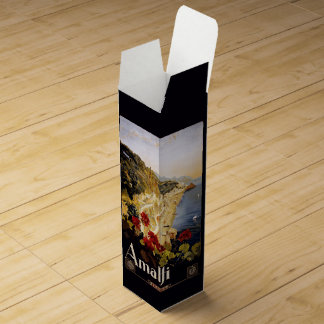 ヴィンテージのアマルフィイタリアのカスタムのワイン用化粧箱 ワインギフトボックス
