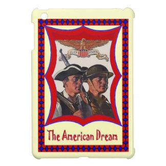 ヴィンテージのアメリカのイメージ、独立、7月4日 iPad MINIケース
