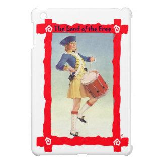 ヴィンテージのアメリカのイメージ、独立、7月4日 iPad MINI CASE