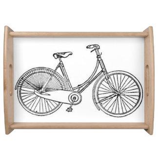 ヴィンテージのアメリカの自転車の図表 トレー