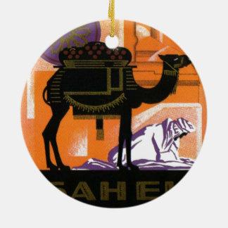 ヴィンテージのアルジェリアのワイン、Vinサヘル、Algerie セラミックオーナメント