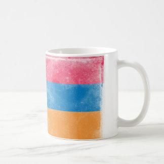 ヴィンテージのアルメニアの旗 コーヒーマグカップ