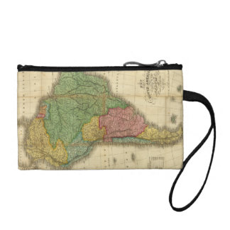ヴィンテージのアンソニーFinley著1826年の南アメリカの地図 コインパース