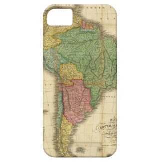 ヴィンテージのアンソニーFinley著1826年の南アメリカの地図 iPhone SE/5/5s ケース