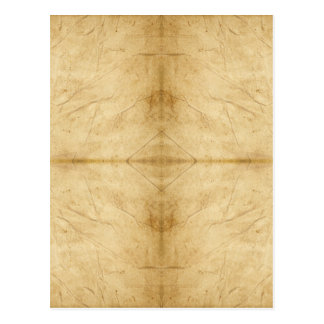ヴィンテージのアンティークの紙スクロール ポストカード