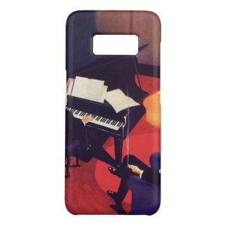 ヴィンテージのアールデコ音楽ラウンジのピアノ奏者のピアニスト Case-Mate SAMSUNG GALAXY S8ケース