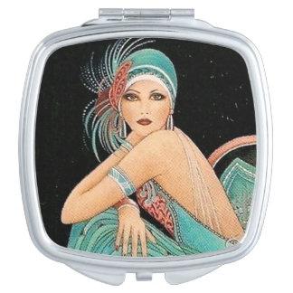 ヴィンテージのアールヌーボーの鏡