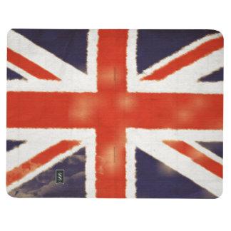 ヴィンテージのイギリスの旗の英国国旗ジャーナル ポケットジャーナル