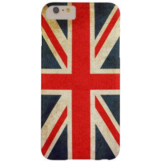 ヴィンテージのイギリスの英国国旗の旗のiPhone 6のプラスの場合 Barely There iPhone 6 Plus ケース