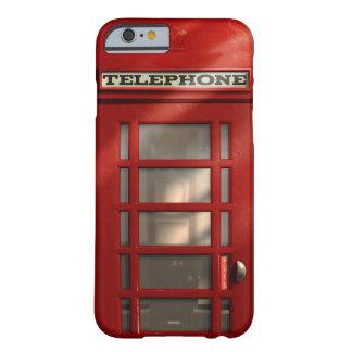 ヴィンテージのイギリスの赤い電話ボックス BARELY THERE iPhone 6 ケース