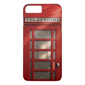 ヴィンテージのイギリスの赤い電話ボックス iPhone 8 PLUS/7 PLUSケース