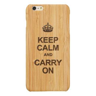 ヴィンテージのイギリスのKeep Calm and Carry Onのタケ一見