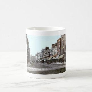 ヴィンテージのイギリスグロスターの1890年代 コーヒーマグカップ