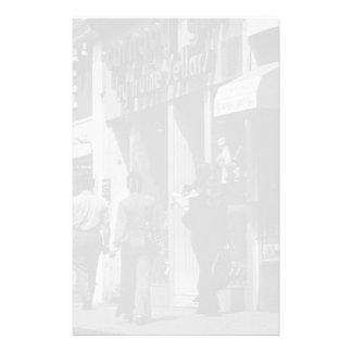 ヴィンテージのイギリスロンドンの店のCarnabyの通り1970年 便箋