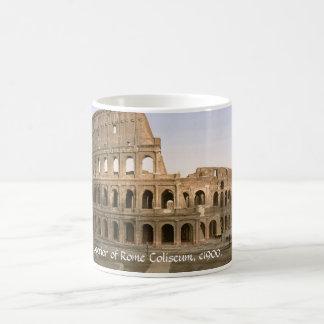 ヴィンテージのイタリアのマグ、コロシアムの外面、ローマ モーフィングマグカップ