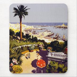 ヴィンテージのイタリアンな観光事業ポスター場面 マウスパッド