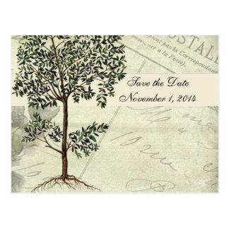 ヴィンテージのイタリア人のミルテの保存日付 ポストカード