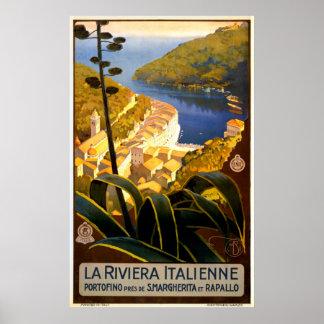 ヴィンテージのイタリア旅行ポスター ポスター