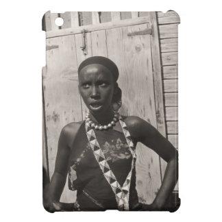 ヴィンテージのイメージ、アフリカの女の子 iPad MINI CASE
