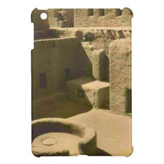 ヴィンテージのイメージ、アフリカの泥の煉瓦家、アルジェリア iPad MINI CASE