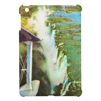 ヴィンテージのイメージ、アフリカ、ヴィクトリア滝 iPad MINIカバー