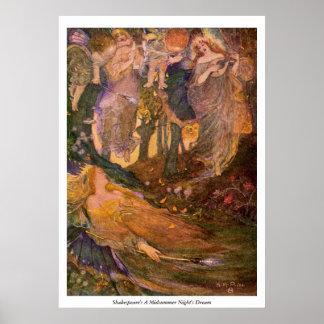 ヴィンテージのイメージ-真夏の夜の夢 ポスター